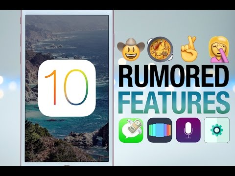 10 Features To Expect in iOS 10!