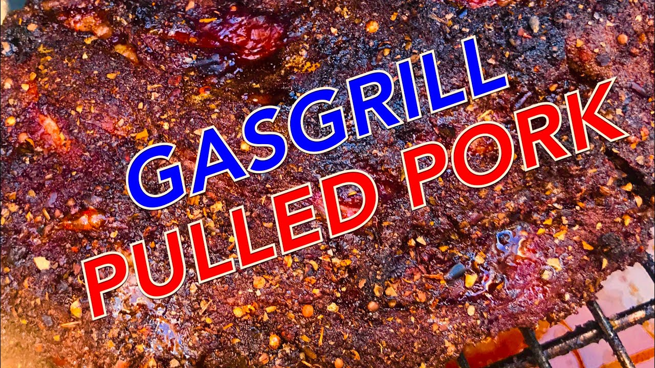 Pulled Pork Burger Gasgrill : Saftiges pulled pork vom gasgrill super einfach anleitung u klaus