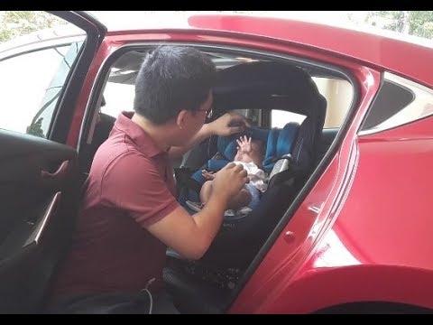 Recaro Zero.1 360-Degree Swivel ISOFIX Child Seat Malaysia - Kon On The Road, #KonOTR, Episode 013