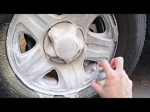 Cleaning EXTREMELY Dirty Alloy Rims Using Oven & Grill Cleaner