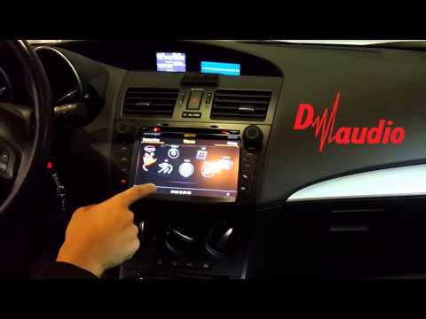 Штатное головное устройство Mazda 3 2009-2013 Winca C034