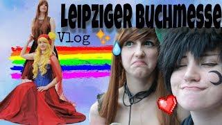 ☆Chaotischer LeipzigerBuchmesse Vlog ☆ - AkioCos
