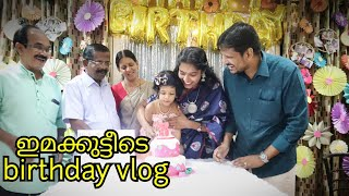 Ima's birthday celebrations|Ima turns 3|A day in my life in malayalam|DIY decorations|Asvi malayalam
