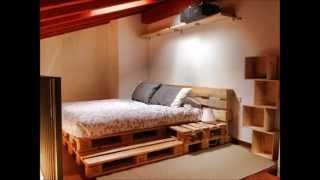 15 camas hechas con palets