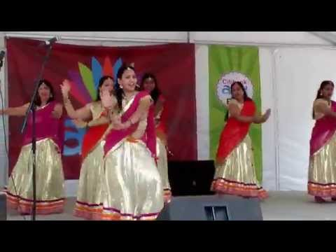 Indian group dance at Asia Festival 2014 in Dallas