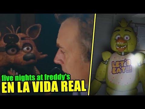 Five Nights At Freddy's en la VIDA REAL 😱 La película de FNAF The Movie