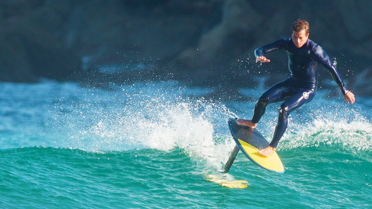 The Basics of Hydrofoil Surfing