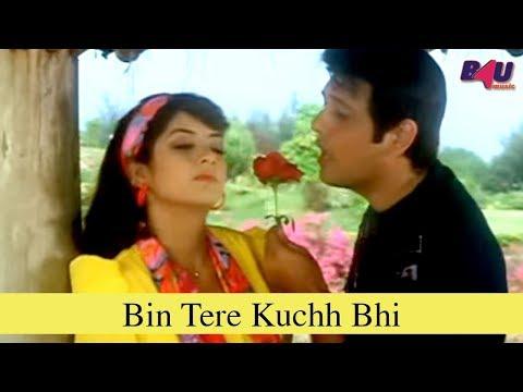 Bin Tere Kuchh Bhi   Full Song   Jaan Se Pyaara   Govinda, Divya Bharti   HD