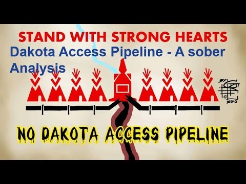 Dakota Access Pipeline - Water protector vs the world? (Could they do better?)