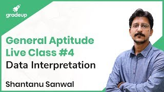 General Aptitude Live Class #4 | Data Interpretation | Shantanu Sanwal