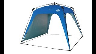 Lumaland Outdoor Pop Up Gazebo Pavilion Garden Tent Review