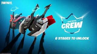 The Fortnite Crew Legacy Set - An Exclusive Reward for Crew Members