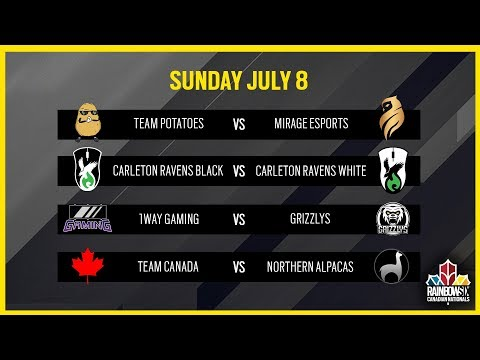 Rainbow Six Siege: LIVESTREAM Canadian Nationals Online Circuit | Week 2 - Day 2 | Ubisoft [NA]