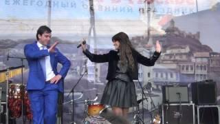 Нино Чхеидзе  на Тбилисоба-2014 в Москве