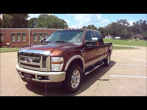 SOLD 2008 Ford F 250 King Ranch 4x4 Test Drive