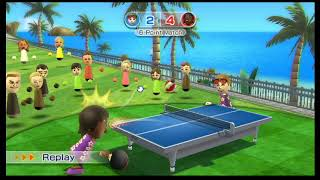 Wii Sports Resort Table Tennis #10| I haven't played in 1 year!!