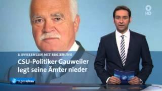 Differenzen mit Regierung: CSU-Politiker Gauweiler legt Ämter nieder