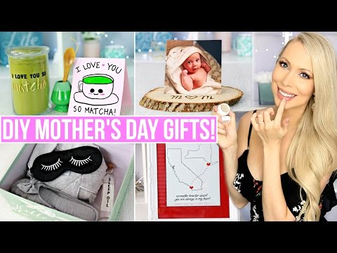 EASY LAST MINUTE DIY MOTHER'S DAY GIFTS!
