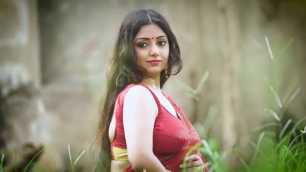Sexy Wear Saree In Bengali Style Beautiful Womens Hot Photoshoot Exclusive Youtube