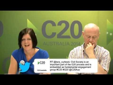 C20 media briefing at G20