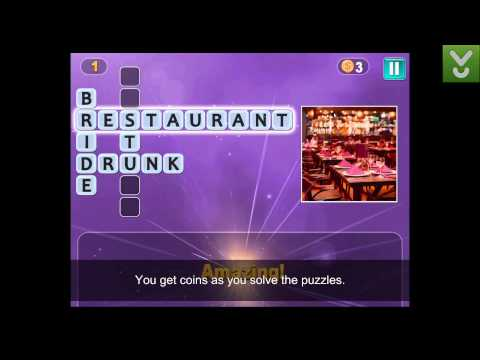 PixWords - Solve Crossword Puzzles With Image Clues - Download Video Previews