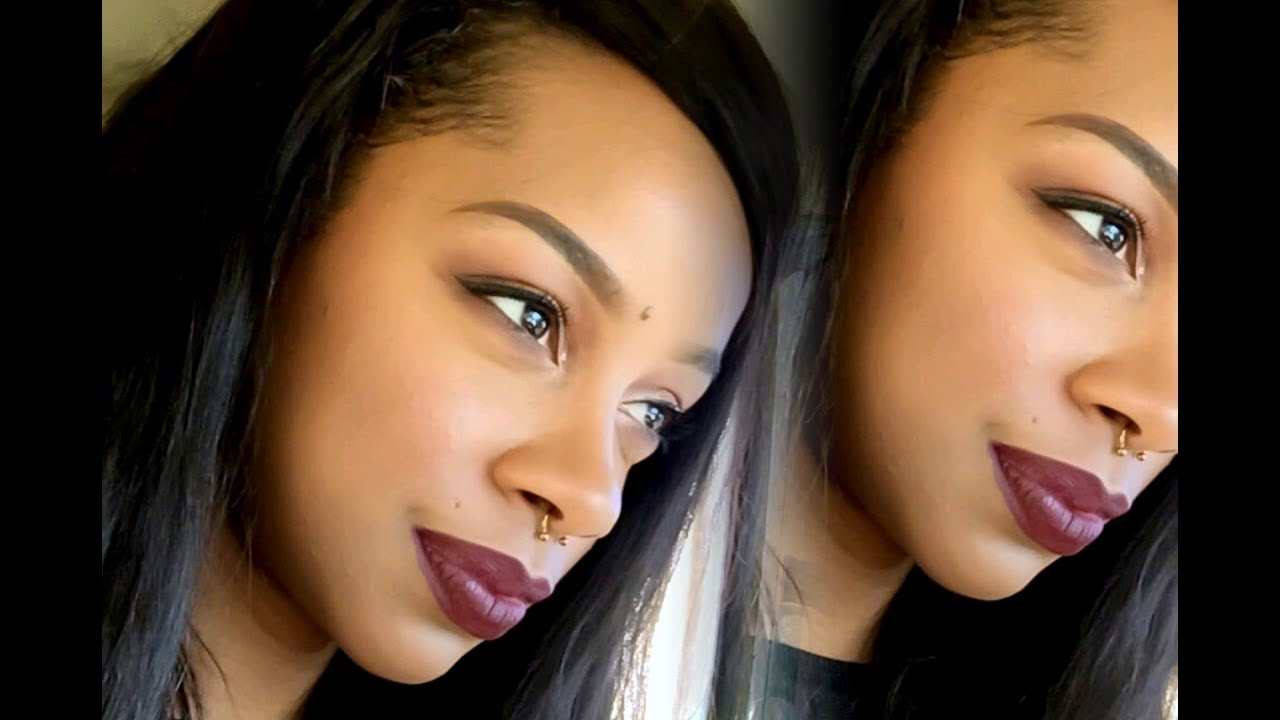 Makeup Tutorial Featuring LaSplash Lip Smitten In Ravens Claw (REQUEST) - YouTube