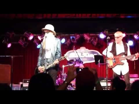 Billy Gibbons - La Grange - BB King NYC - December 17, 2013