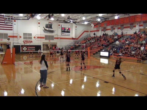 SVMS Volleball vs Hesston Middle School