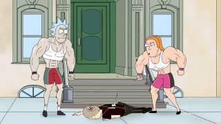 Рик и Морти  .