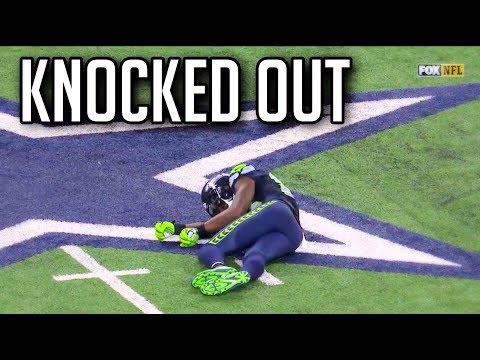 NFL Knocked Out Hits || HD *Warning*