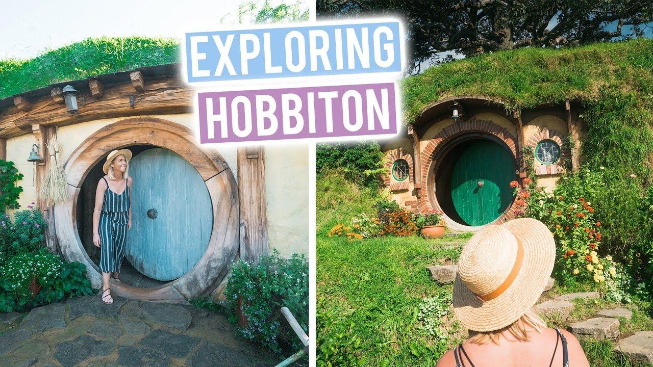Best Day Ever in New Zealand | Hobbiton Movie Set Tour | Wild Kiwi - YouTube