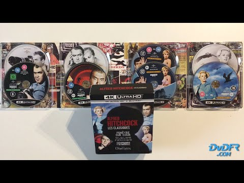 "unboxing-:-coffret-""alfred-hitchcock---les-classiques""-4k-ultra-hd-+-blu-ray"