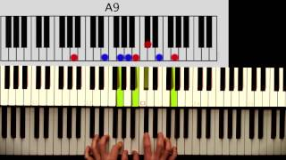 How to play: Ray Charles - What I