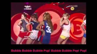 hyuna bubble pop lyrics rom eng