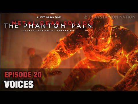 METAL GEAR SOLID V: THE PHANTOM PAIN - Walkthrough - Episode 20 - Voices [All Mission Tasks]