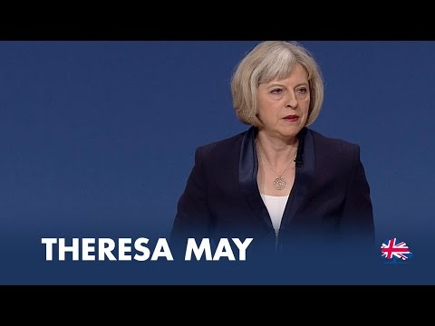 Theresa May: Speech to Conservative Party Conference 2014