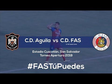 C.D. Águila 0-2 C.D. FAS | Resumen | Jornada 13 - Apertura 2018