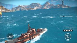 Just Cause 3 - Platteforma Petral Oil Rig Liberated: Epic Battleship & Helicopters 5 Stars Gameplay