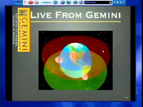 ASP1010 Earth to Cosmos: Live from Gemini!