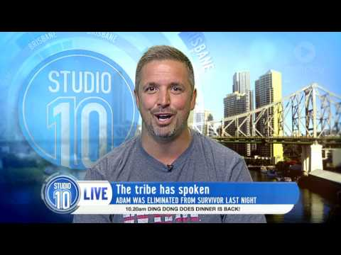 Adam Parkin Eliminated From Australian Survivor 2017 | Studio 10