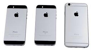iPhone 5S vs. iPhone SE vs. iPhone 6 - СРАВНЕНИЕ. Какой iPhone купить?