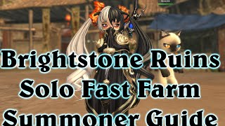 [NA] Brightstone Ruins - Summoner Solo Speed Farming - BnS - Blade And Soul