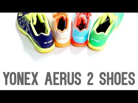 Yonex Aerus I vs. Aerus II Badminton Shoes - YumoTube. Yumo Pro Shop b7fd76737