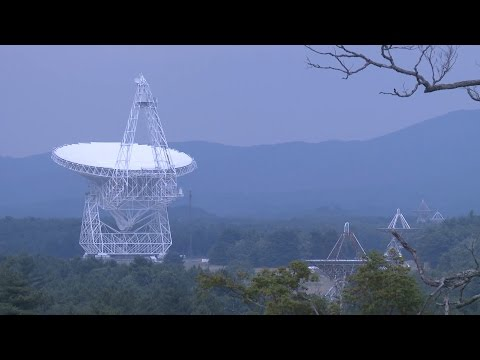 How does a radio telescope work?