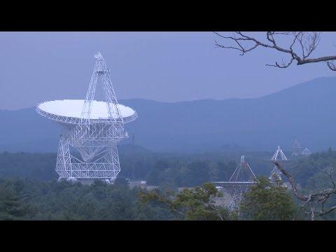 How does a radio telescope work?
