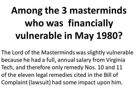 Oppression by 3 masterminds   10  with narration