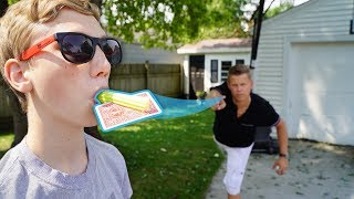 Card Throwing Trick Shots 2 | That's Amazing | Rick Smith Jr.