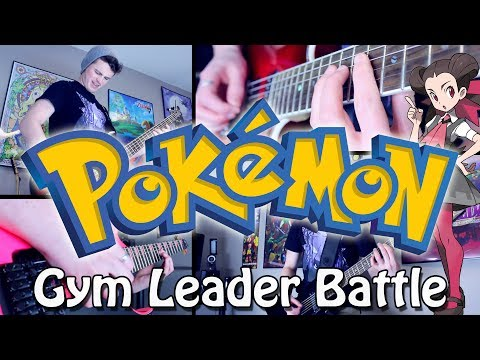 Gym Leader Battle - Pokémon RSE/ORAS (Rock/Metal) Guitar Cover