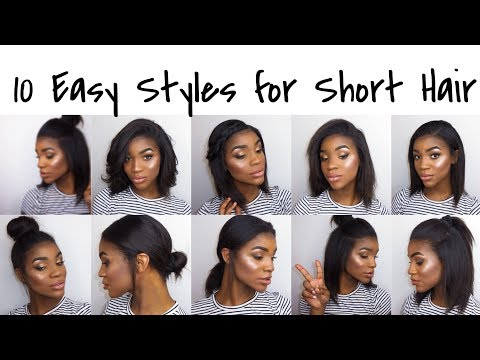 10 Easy Hairstyles for Shoulder Length Hair