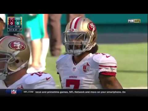 Kaepernick Booed By Miami Fans For Praising Dictator Fidel Castro